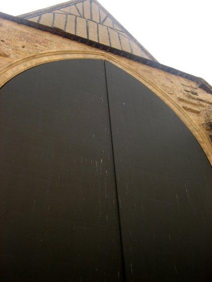 la grande porte du marché couvert